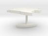 Angola Terrain Cufflink - Flat 3d printed