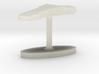 Benin Terrain Cufflink - Flat 3d printed