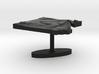 Egypt Terrain Cufflink - Flat 3d printed