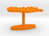 Hungary Terrain Cufflink - Flat 3d printed