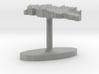 Georgia Terrain Cufflink - Flat 3d printed