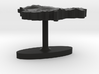 Lithuania Terrain Cufflink - Flat 3d printed
