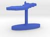 Finland Terrain Cufflink - Flat 3d printed