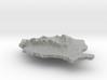 Romania Terrain Silver Pendant 3d printed
