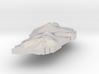 Dominica Terrain Silver Pendant 3d printed