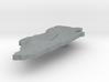 Bahrain Terrain Silver Pendant 3d printed