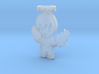 Pendant Frozen Detail Blue Angel Boy 3d printed