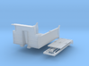 1/87th HO Scale 12' Concave Dump truck Body 3d printed