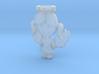 Pendant Blue Angel Girl Frozen Detail 3d printed