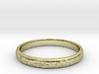 Ra ring(size = USA 5.5,Japan 10, English K) 3d printed