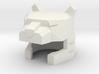 Robohelmet: Jaggedy Cat 3d printed