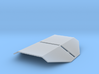 HO Scale Tank Car Shield for 1 Car 3d printed