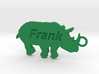 Keychain for Frank 3d printed