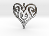 Sworn Heart 3d printed