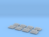 GN 15 Kupplungsführungen für Fallhakenkupplung 3d printed