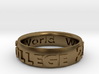 Smith Ring 2015 With Inner Inscribe 16mm interior  3d printed Women for the World inside
