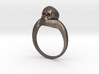 150109 Skull Ring 1 size 7 3d printed