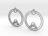 Zoe - Earrings - Series 1 3d printed