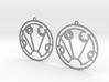 Sydney - Earrings - Series 1 3d printed