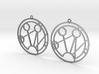 Samantha - Earrings - Series 1 3d printed