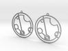 Peyton - Earrings - Series 1 3d printed