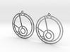 Mia - Earrings - Series 1 3d printed