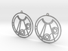 Melissa - Earrings - Series 1 3d printed