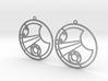 Lucy - Earrings - Series 1 3d printed