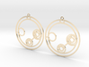 Lillian - Earrings - Series 1 3d printed