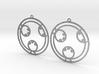 Layla - Earrings - Series 1 3d printed