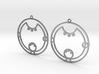 Laura - Earrings - Series 1 3d printed