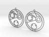 Camila / Kamila - Earrings - Series 1 3d printed