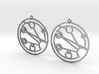 Josephine - Earrings - Series 1 3d printed