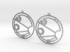 Isabella - Earrings - Series 1 3d printed