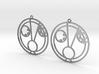 Hazel - Earrings - Series 1 3d printed