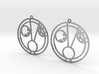 Hazel - Earrings - Series 1 3d printed