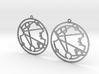 Florence - Earrings - Series 1 3d printed