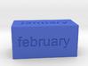 Calendar1 3d printed