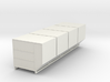 1:72 LD-3 Air Cargo Container 4pc 3d printed