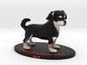 Custom Dog Figurine - Elle (Valentine's Day) 3d printed