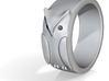 Owl Ring: (various sizes) 3d printed