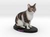 Custom Cat Figurine - Petey 3d printed