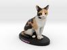 Custom Cat Figurine - S'mores 3d printed