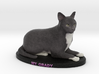 Custom Cat Figurine - O'Grady 3d printed