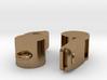 Whistle Earrings 3d printed