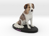 Custom Dog Figurine - Livvy 3d printed