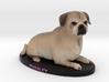 Custom Dog Figurine - Pugsley 3d printed