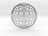 Loops Medallion  3d printed