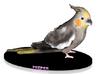 Custom Bird Figurine - Peeper 3d printed