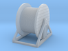 N Scale Cable Reel (Full) On Stand 3d printed